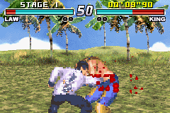 Tekken Advance - Battle  - blammo - User Screenshot